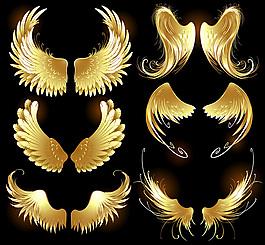 游戏金属翅膀元素