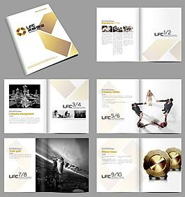简约大气企业形象宣传画册PSD