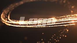 漩涡AE粒子特效AE素材