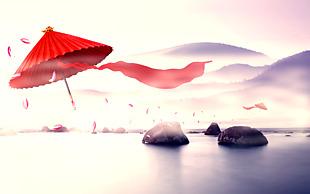 水墨中国风设计文件