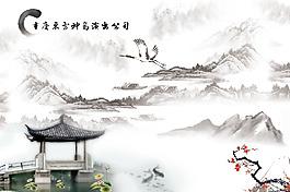 中国风水墨背景素材