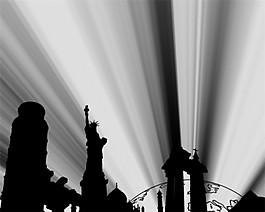 城市光效視頻素材