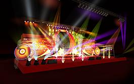 舞台舞台造型灯光