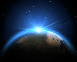 地球之光視頻素材