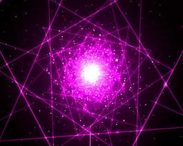 絢麗紫光視頻素材