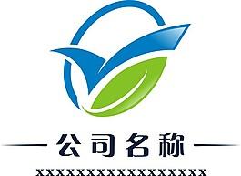 時尚大氣簡潔葉子Y字母logo設計
