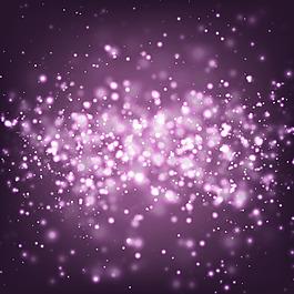 紫色光暈矢量素材