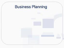 商業計劃模板