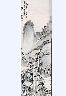 山水畫圖片TIF