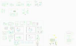 酒柜CAD素材設計圖