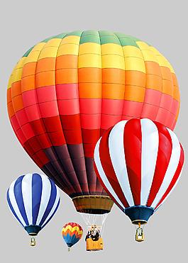 节日气氛热气球