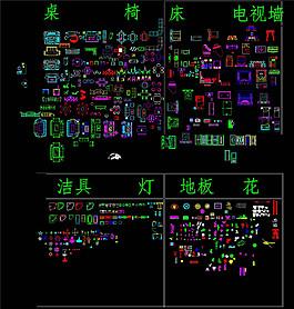 CAD模型圖庫設計CAD圖紙