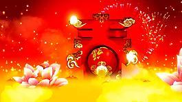 新春新年春節視頻素材