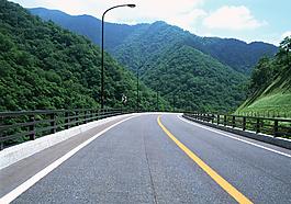 道路美景圖片