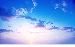 高清婚紗外景藍天白云PS換天空PSD素材