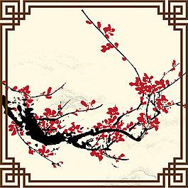 中國風梅花