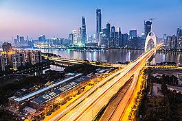 美麗廣州夜景