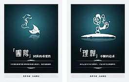企業文化宣傳海報