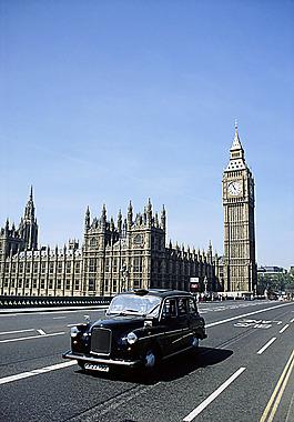 大本鐘和倫敦公路