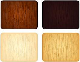 4种色彩木纹背景