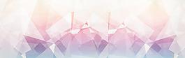 大氣幾何圖案背景海報