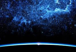 高清星空背景圖