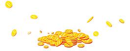 金币漂浮元素