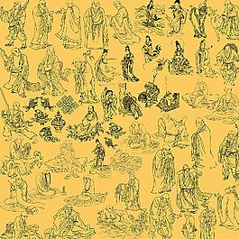 佛教人物大全图片