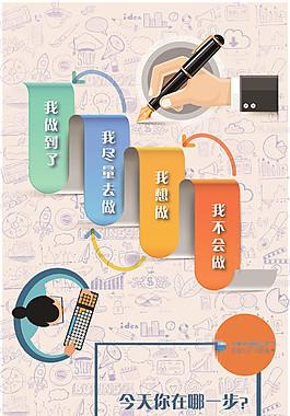 企業文化海報  系列海報