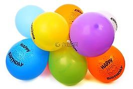 空气,气球,生日