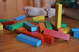 塊,兒童,玩具