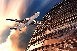 飞机,圆顶,柏林