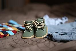 鞋,懷孕,兒童
