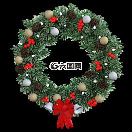 花环,圣诞节装饰,装饰