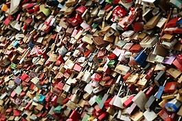 城堡,愛情,同心鎖