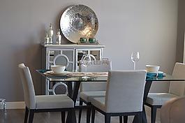 餐廳,表,椅子