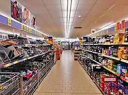 超市,货架,购物