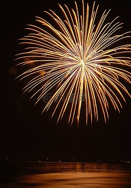焰火,节日,泰国
