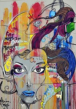 涂鴉,壁畫,街頭藝術