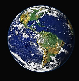 地球,蓝色星球,环球