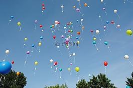 气球,庆祝活动,浮点数