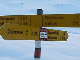 alpstein,雪,阿彭策尔