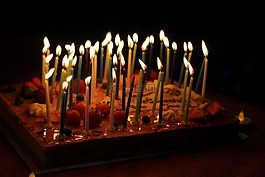 蜡烛,节日,生日