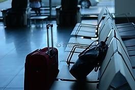 機場,旅行,旅行者