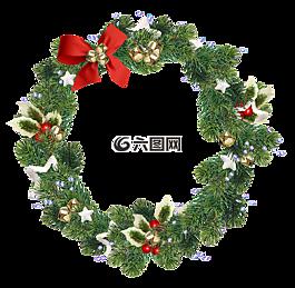 花圈,圣诞花圈,圣诞装饰