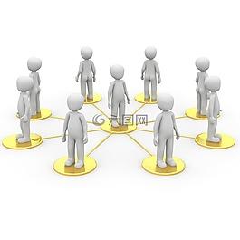 網絡,社會,社區