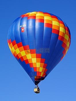 气球,气球信封,热气球