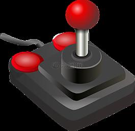 游戏杆,游戏控制器,按钮
