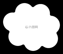思想,云,形状
