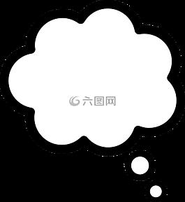思想,講話,氣泡